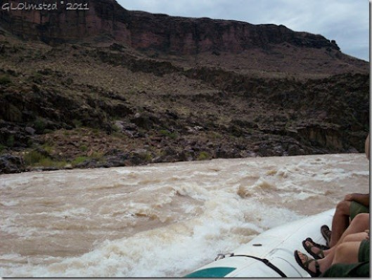 Shinumo Rapid ~RM109.4 Colorado River trip Grand Canyon National Park Arizona