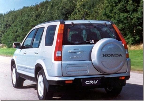 26.04.2002 - Divulgação - CA - carro - Honda CR-V - Sao Paulo, Sp - opaco.