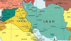 map syria-iran