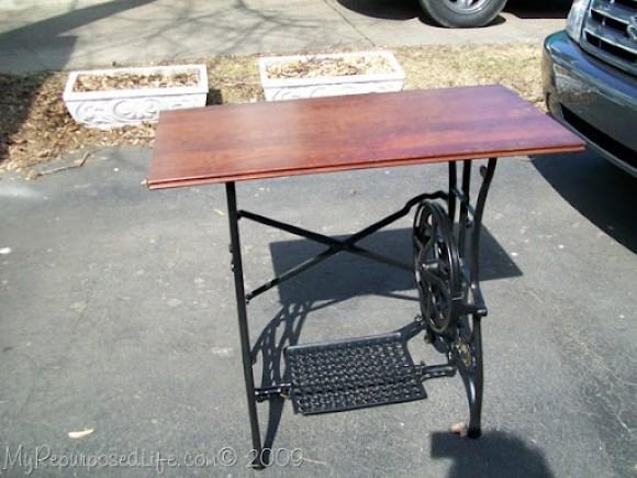 trestle sewing machine