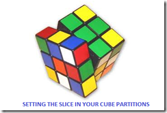 1 Setting slice in SSAS cube partitions