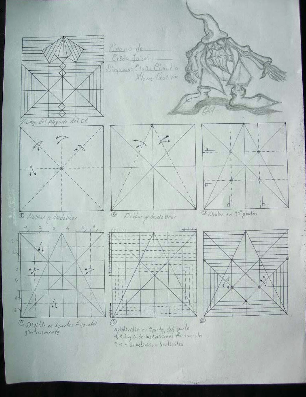 eric joisel origami mermaid diagram 1997 ford expedition xlt radio wiring gnomo de diagramas creando