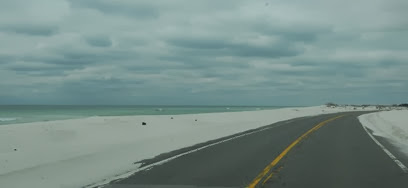 road into fort Pickens subject to overflow