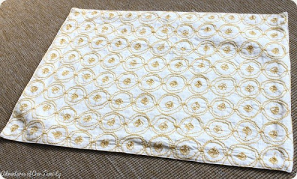 no sew pillow case target place mat