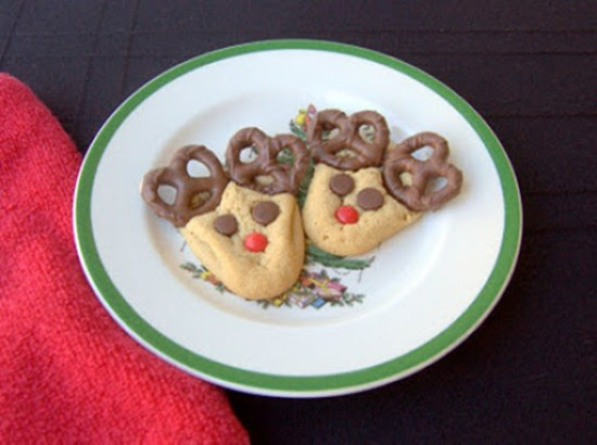 Peanut Butter Reindeer Cookies by 365 Days of Baking