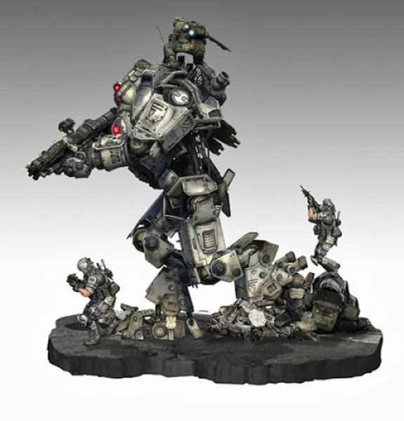 TitanFall Collector's Edition Statue
