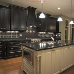 Black Pull Handles Kitchen Cabinets Storage Free Standing ديكورات مطابخ 2013