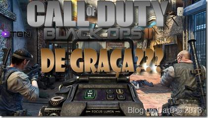 Call of Duty: Black Ops 2 – de Graça ???