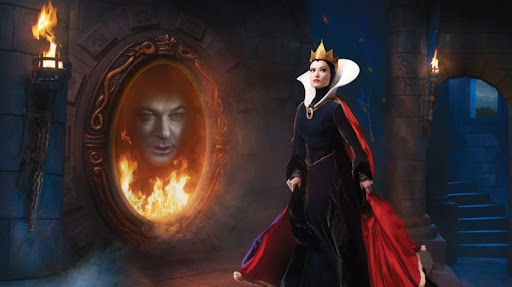 Resultado de imagen para reina blancanieves espejito