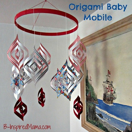 Origami Baby Mobile 2