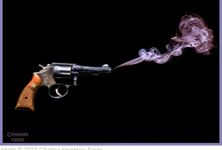 'Gun Smoke Red' photo © 2010, Charles Knowles - license: http://creativecommons.org/licenses/by/2.0/