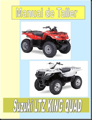 01manual taller suzuki ltz king quad