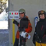 Italy - Swiss border on Plateau Rosa (3.480 m)