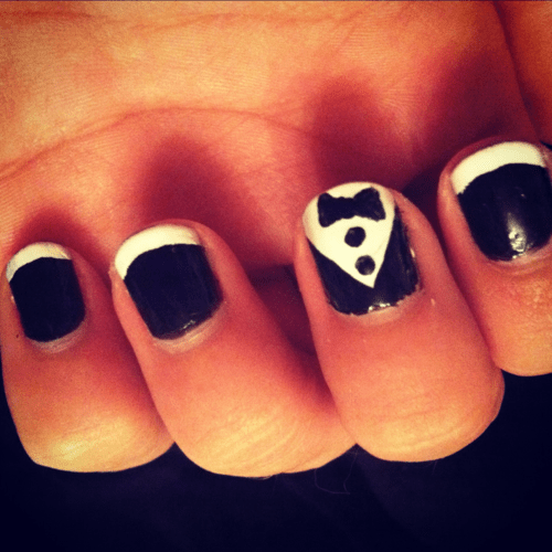 Cute Bow Nail Designs