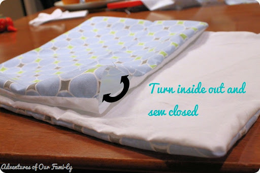 diy quiet book cover making instructions