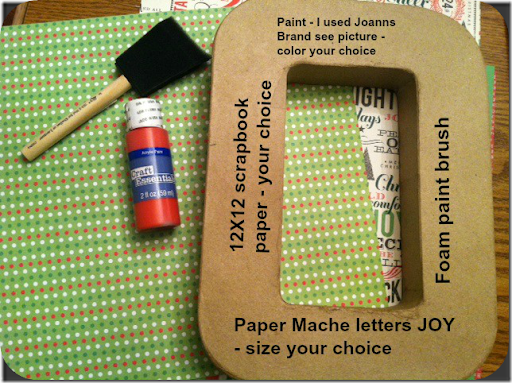 Paper Mache Letter Tutorial