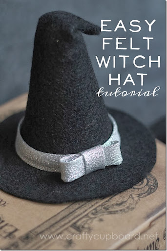 FELT WITCH HAT TUTORIAL