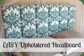 Easy Upholstered Headboard