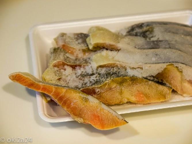 【レシピ】【冷凍の魚】塩秋鮭切身を凍ったまま焼いても普通に美味しく料理できました♪