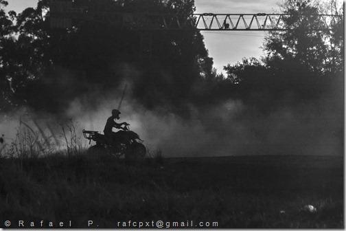 fim de tarde motard