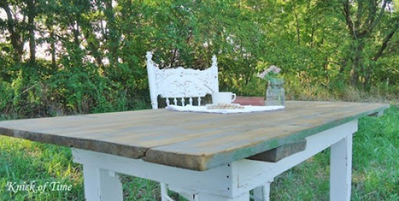 diy farm table
