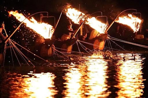 Ukai – необычная японская рыбалка при помощи бакланов