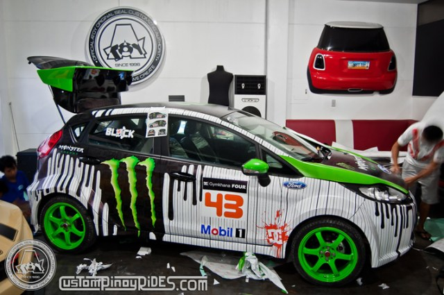 Atoy Customs Ford Fiesta Wide Body Kit - Almost Complete