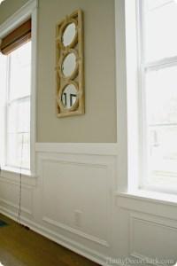 DIY craftsman window trim from Thrifty Decor Chick