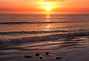 Sunset on Siesta Key in Sarasota.  Jim's birthday 2013