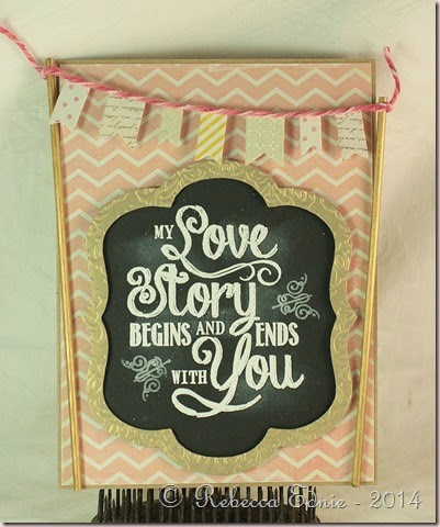 love story banner card