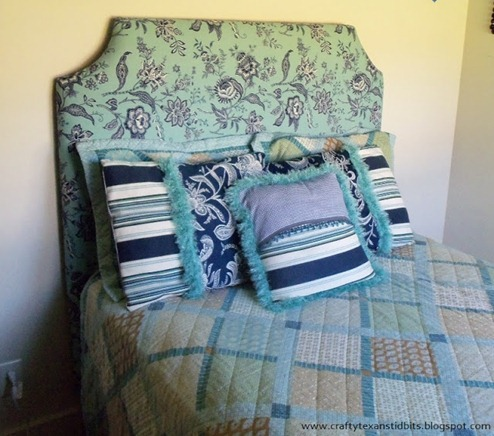 DIY padded headboard tutorial