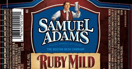 Samuel Adams  Ruby Mild 12oz Bottles  mybeerbuzzcom