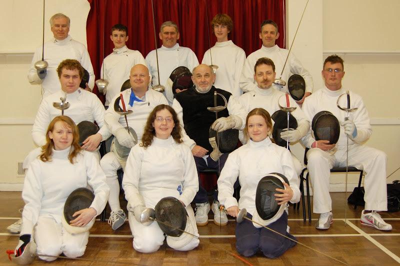 Sway Fencing Club 2008/9