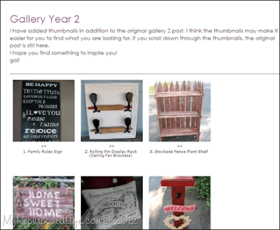 Gallery Year 2