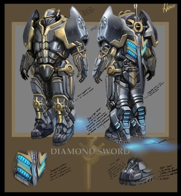 Tribes Ascend Diamond Sword
