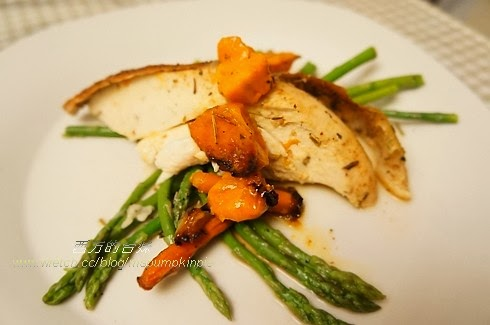 西方的臺Mei: 食譜--蒜香烤雞(Garlic Herb Roasted Chicken)