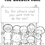THE GOLDEN RULE COLORING