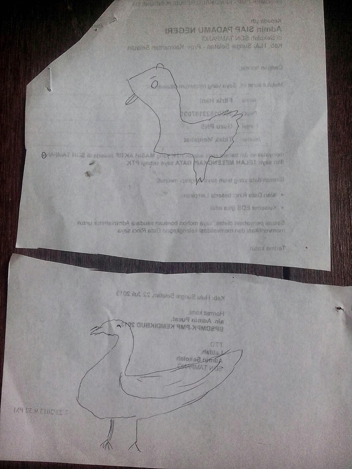 Cara Menggambar Bebek : menggambar, bebek, Hamkani, Berbagi:, September