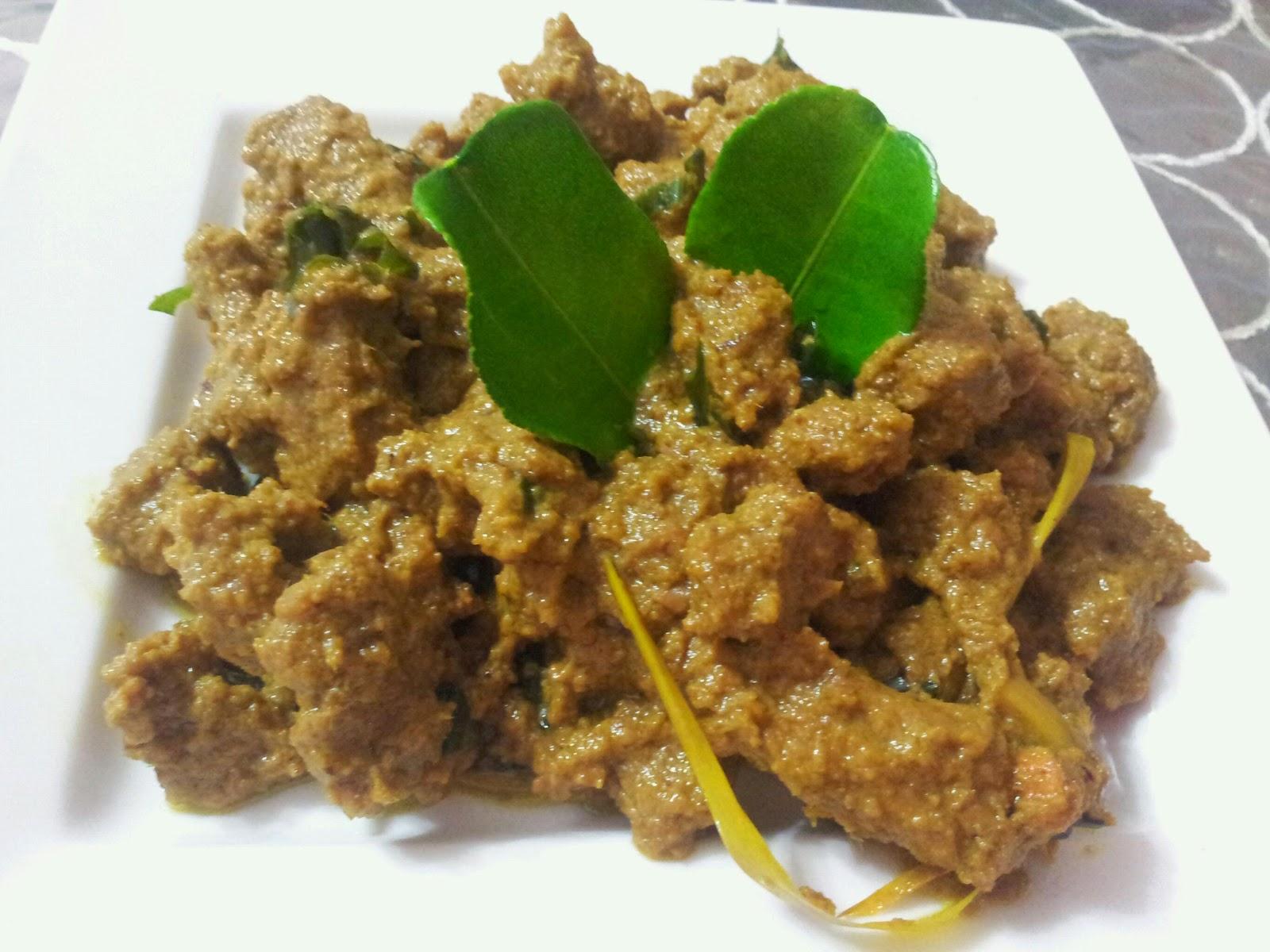 48 Resepi Rendang Ayam Negeri Sembilan Chef Ismail Resepi Kitchen