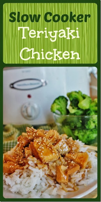 Slow Cooker Teriyaki Chicken Graphic - Joyfulmomma