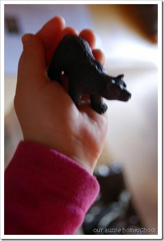 Bear Hunt Sensory Bin ~ Our Aussie Homeschool