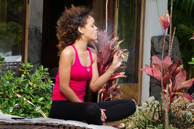Yoga and weed