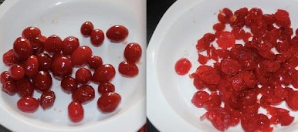 Classic Cherry Cake step1