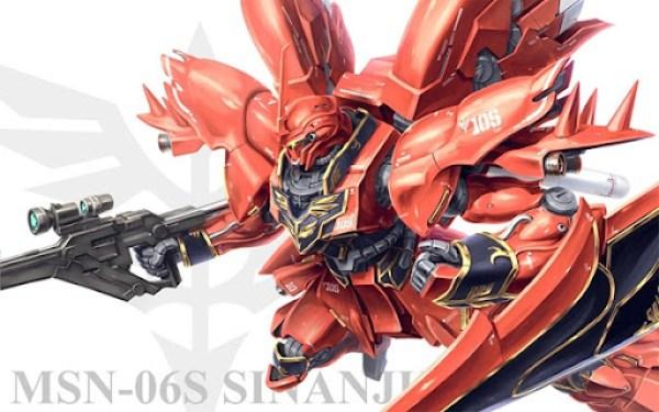 Gundam Unicorn Red