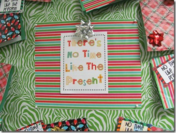 There's No Time Like the Present, Literally!