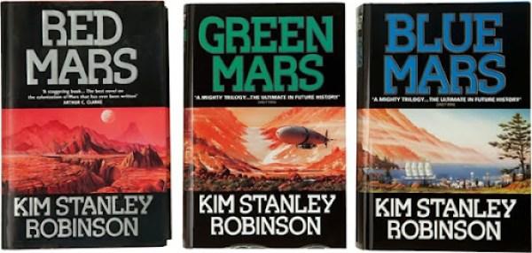 Marte Rojo Marte Verde Marte Azul Kim Stanley Robinson