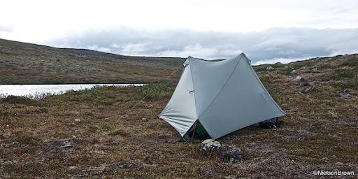 Camp beside Miehtajohka
