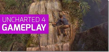 Uncharted 4: 15 minutos de Gameplay divulgado na PlayStation Experience 2014| PS4
