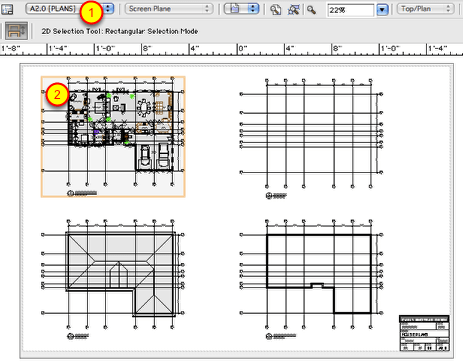Architectural Drafting in VectorWorks: Add key plans and