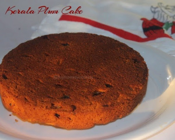 Rich Plum Cake Recipe In Pressure Cooker: Kerala Plum Cake In Pressure Cooker Method